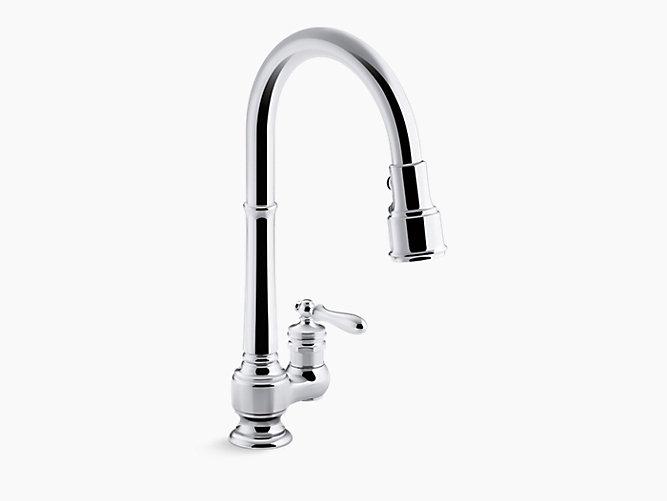 Artifacts®引出式スプレーキッチン水栓