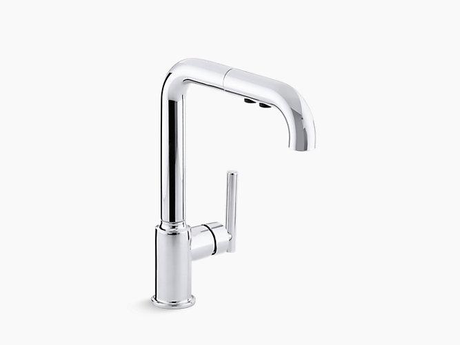 Purist®引出式スプレーキッチン水栓