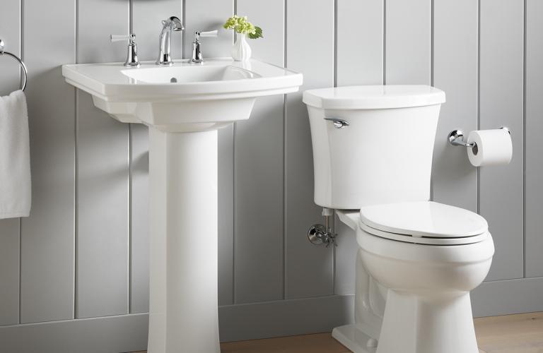 Elliston™ Bathroom Faucets and bathroom sinks